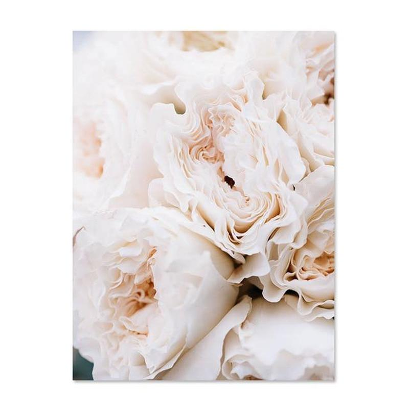 Blush Peonies And All Your Need Is Love Canvas Prints-Heart N' Soul Home-50x70cm no frame-Peonies-Heart N' Soul Home