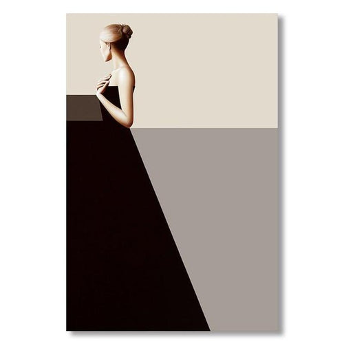 Classic Lady Series Design A Canvas Print-Heart N' Soul Home-60x90cn no frame-Heart N' Soul Home