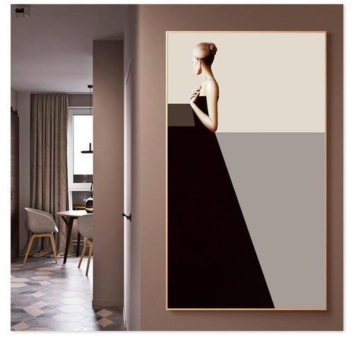 Classic Lady Series Design A Canvas Print-Heart N' Soul Home-Heart N' Soul Home