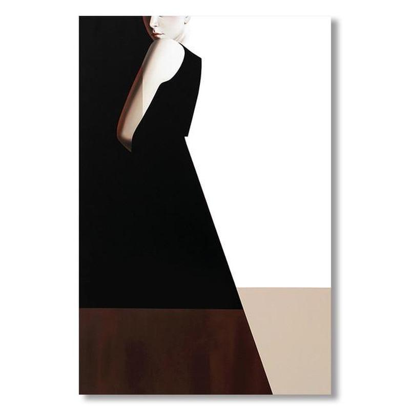 Classic Lady Series Design C Canvas Print-Heart N' Soul Home-60x90cn no frame-Heart N' Soul Home