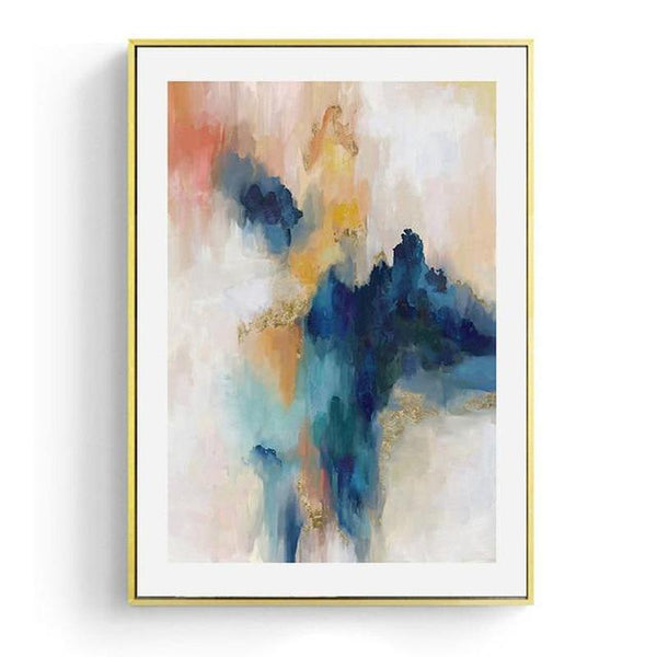 Dreaming Abstract Art Canvas Print-Heart N' Soul Home-20x25cm No frame-Heart N' Soul Home