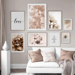 Flowers And Ballerina Canvas Prints-Heart N' Soul Home-Heart N' Soul Home