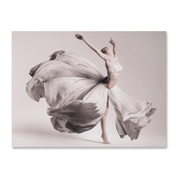 Flowers And Beauty Canvas Prints-Heart N' Soul Home-40x60 cm no frame-Dancer-Heart N' Soul Home