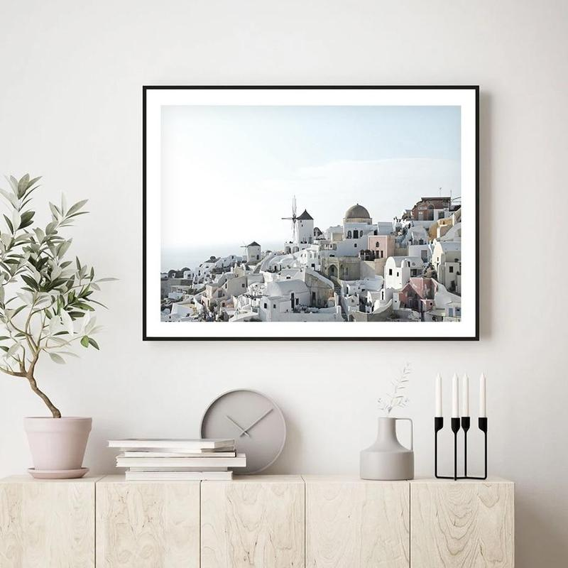 Greek Island Canvas Prints-Heart N' Soul Home-20x25 cm no frame-Heart N' Soul Home