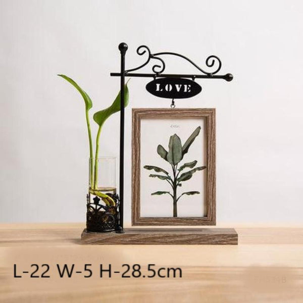 Idyllic Picture Frame Vase-Heart N' Soul Home-Heart N' Soul Home