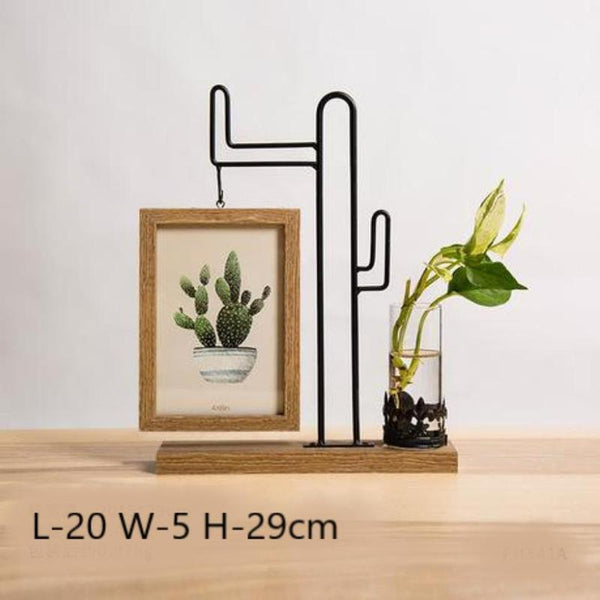 Idyllic Picture Frame Vase-Heart N' Soul Home-Cactus-Heart N' Soul Home