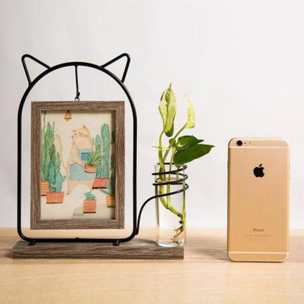 Idyllic Picture Frame Vase-Heart N' Soul Home-Fat Cat-Heart N' Soul Home