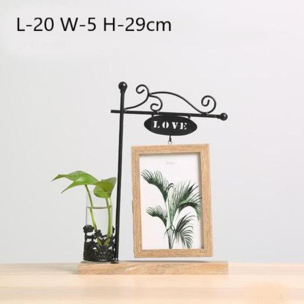 Idyllic Picture Frame Vase-Heart N' Soul Home-Love 2-Heart N' Soul Home