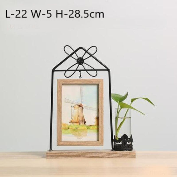 Idyllic Picture Frame Vase-Heart N' Soul Home-Yellow Totoro-Heart N' Soul Home