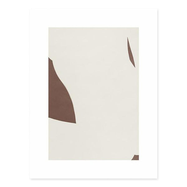 Minimalist Geometric Abstract Canvas Prints-Heart N' Soul Home-13x18 cm no frame-B-Heart N' Soul Home