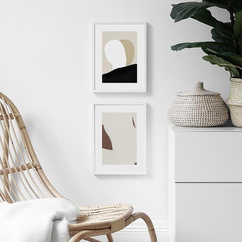Minimalist Geometric Abstract Canvas Prints-Heart N' Soul Home-Heart N' Soul Home