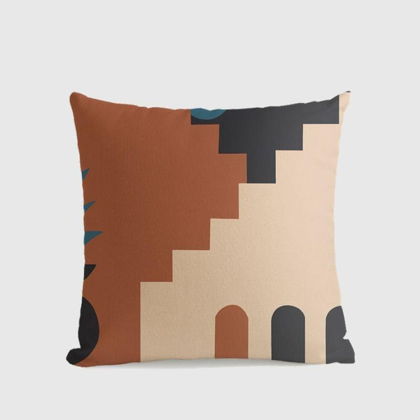 Morandi Colour Art Series Cushion Cover Charlie-Heart N' Soul Home-55????55 cm No Insert-Heart N' Soul Home