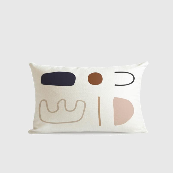 Morandi Colour Art Series Cushion Cover Lena-Heart N' Soul Home-30 ???? 50 cm No Insert-Heart N' Soul Home