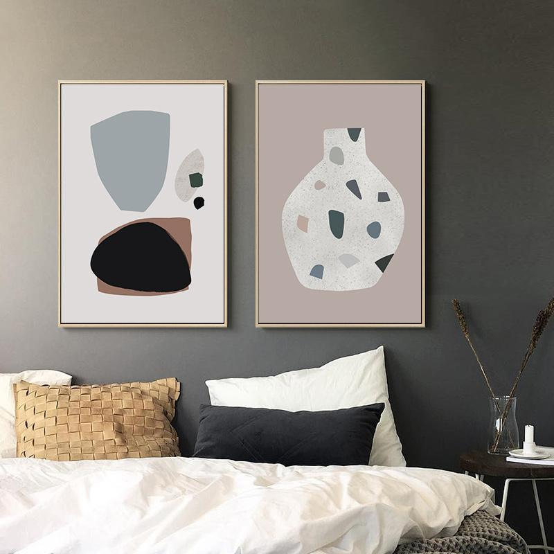 Morandi Nordic Classic Abstract Art Canvas Prints-Heart N' Soul Home-Heart N' Soul Home