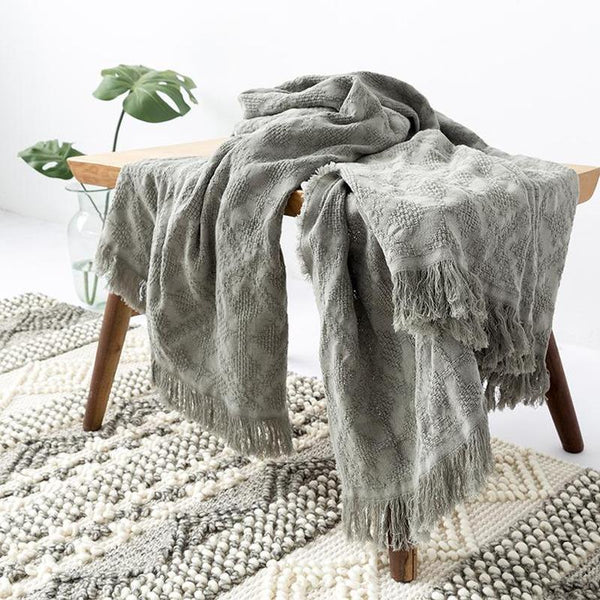 Myla Tassel Throw - 18 Designs-Heart N' Soul Home-WD-06-127x152CM-Heart N' Soul Home