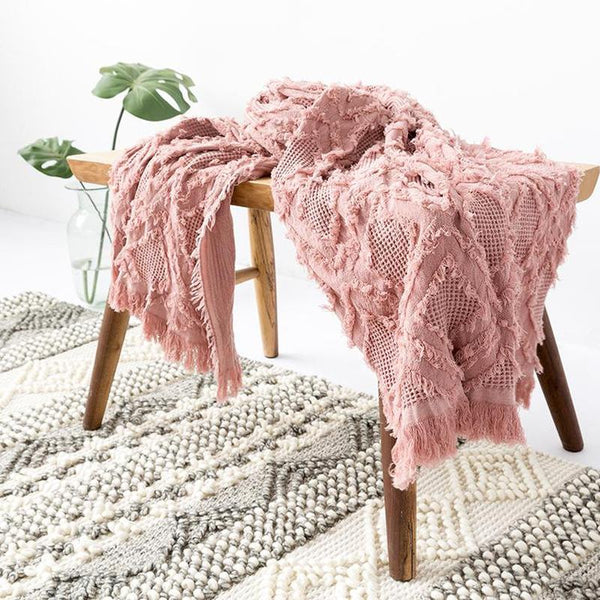 Myla Tassel Throw - 18 Designs-Heart N' Soul Home-WD-10-117x152CM-Heart N' Soul Home