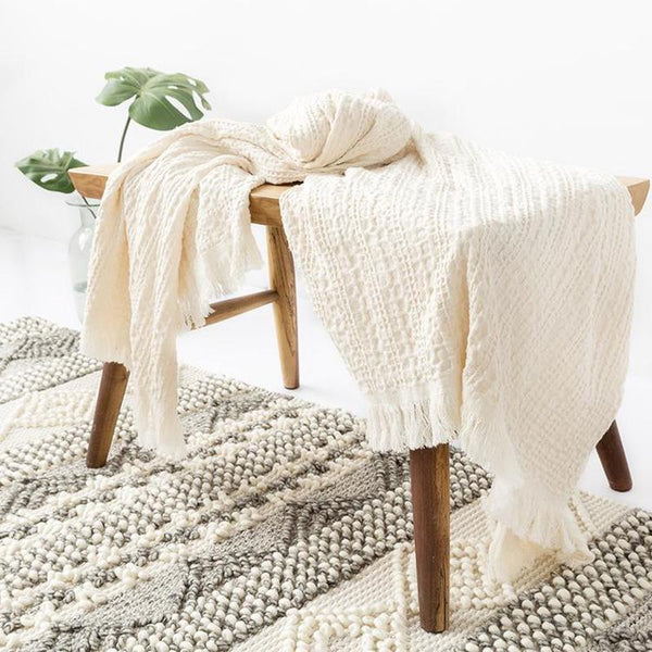Myla Tassel Throw - 18 Designs-Heart N' Soul Home-WD-12-120x152CM-Heart N' Soul Home