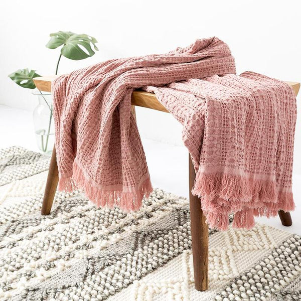 Myla Tassel Throw - 18 Designs-Heart N' Soul Home-WD-13-120x150CM-Heart N' Soul Home
