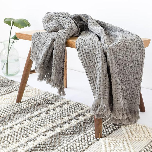 Myla Tassel Throw - 18 Designs-Heart N' Soul Home-WD-14-120x150CM-Heart N' Soul Home