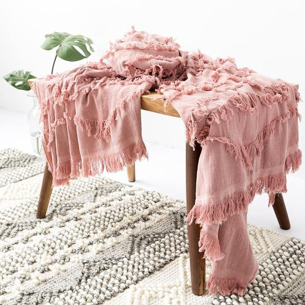Myla Tassel Throw - 18 Designs-Heart N' Soul Home-WD-16-130x150CM-Heart N' Soul Home