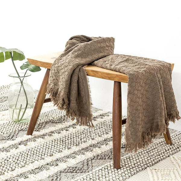 Myla Tassel Throw - 18 Designs-Heart N' Soul Home-WD-18-127x152CM-Heart N' Soul Home