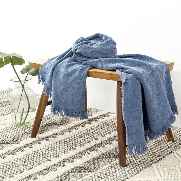 Myla Tassel Throw - 18 Designs-Heart N' Soul Home-WD-19-127x152CM-Heart N' Soul Home