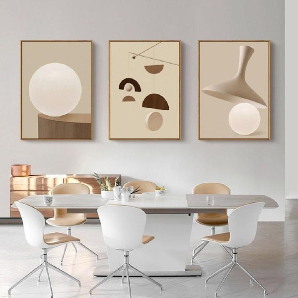 Nora Abstract Art Canvas Prints-Heart N' Soul Home-Heart N' Soul Home