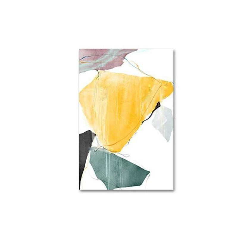 Norah Abstract Art Canvas Painting Prints-Heart N' Soul Home-10x15cm no frame-A-Heart N' Soul Home