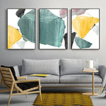 Norah Abstract Art Canvas Painting Prints-Heart N' Soul Home-Heart N' Soul Home