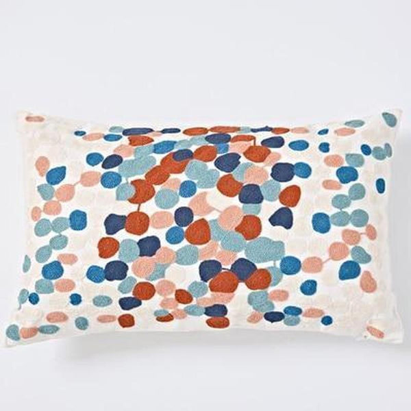Nordic Geometric Art Embroidered Cushion Cover-Heart N' Soul Home-G 30x60cm-Heart N' Soul Home