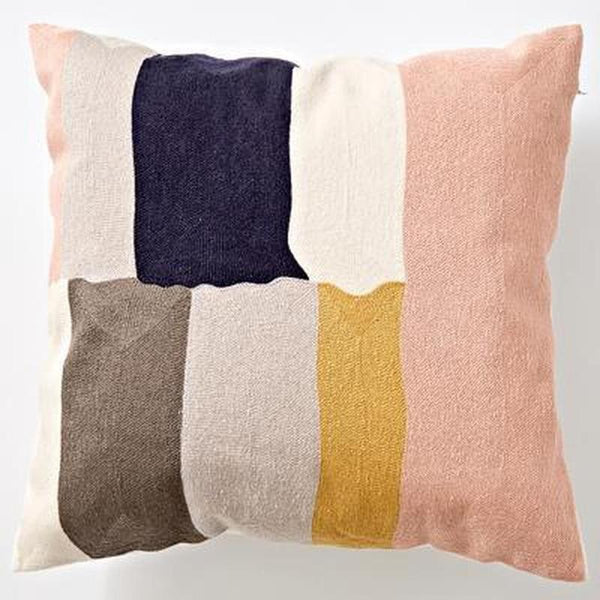 Nordic Geometric Art Embroidered Cushion Cover-Heart N' Soul Home-M 45x45cm-Heart N' Soul Home