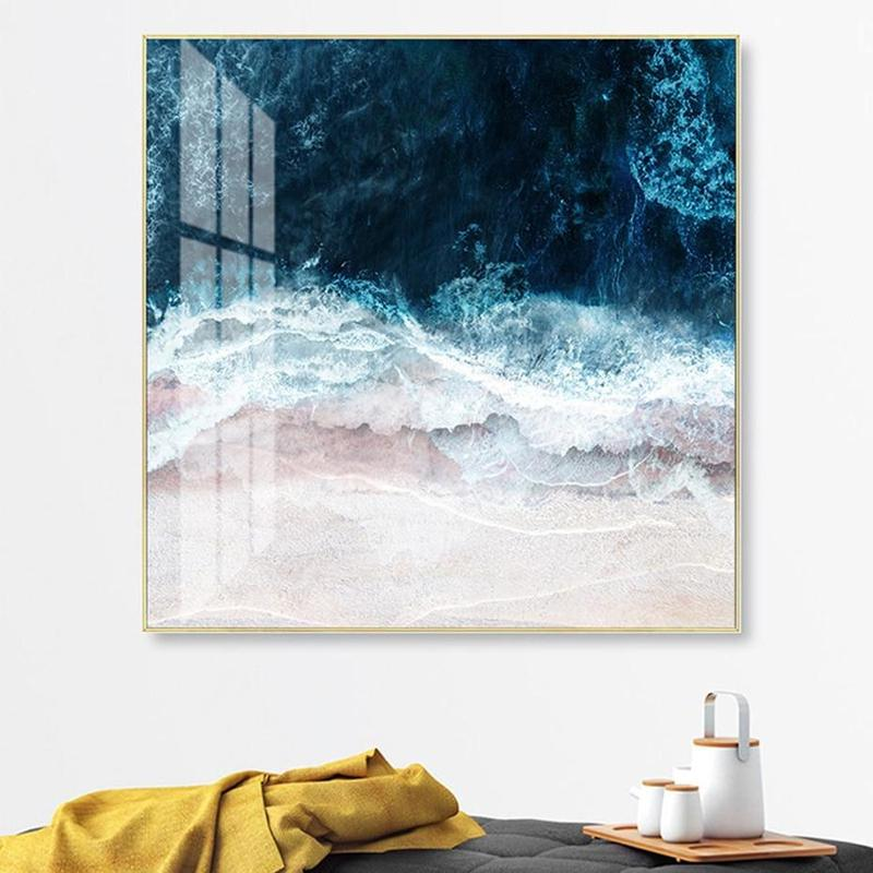 Ocean Swell Canvas Print-Heart N' Soul Home
