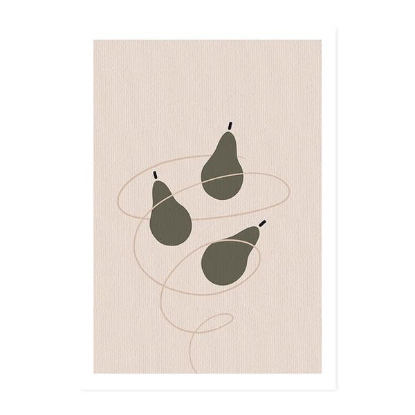 Abstract Illustration Plants Canvas Prints-Heart N' Soul Home