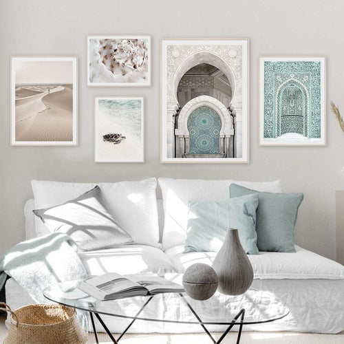 Moroccan Scenery Canvas Pints-Heart N' Soul Home
