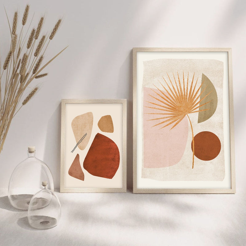 Romina Abstract Art Canvas Prints-Heart N' Soul Home
