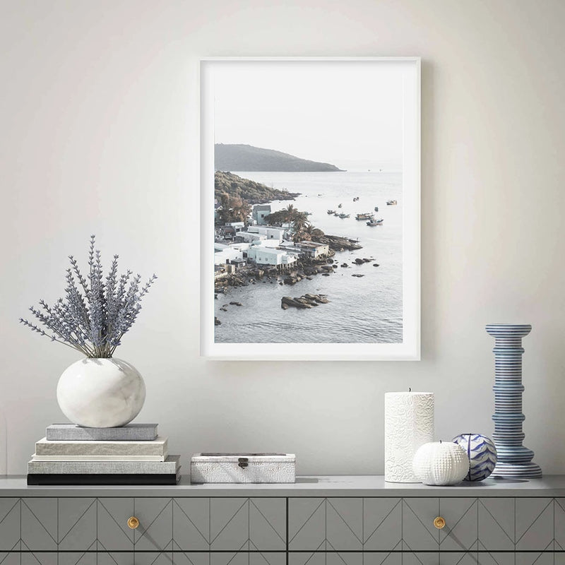 Calm Ocean Canvas Print-Heart N' Soul Home