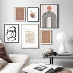Zuri Abstract Art Prints-Heart N' Soul Home
