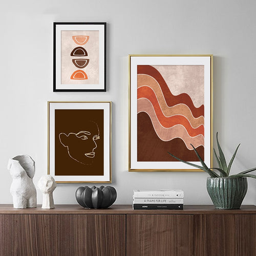 Tatum Abstract Art Prints-Heart N' Soul Home
