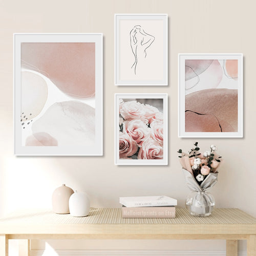 Pink Lorelei Canvas Art Prints