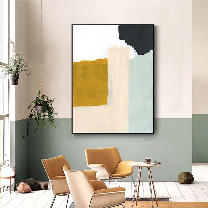 Sunshine Abstract Canvas Print