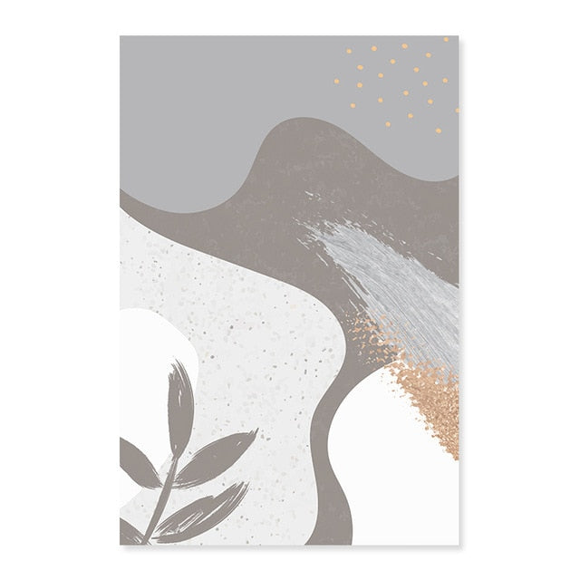 Willow Abstract Canvas Prints
