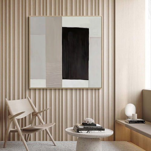 Kaleb Abstract Canvas Print