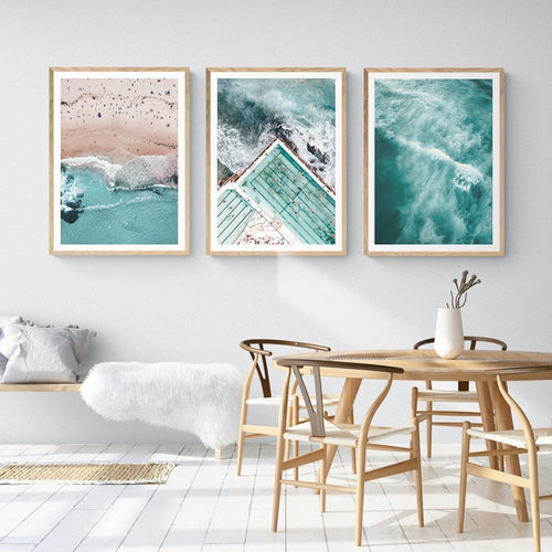 Beautiful Ocean Day Canvas Print