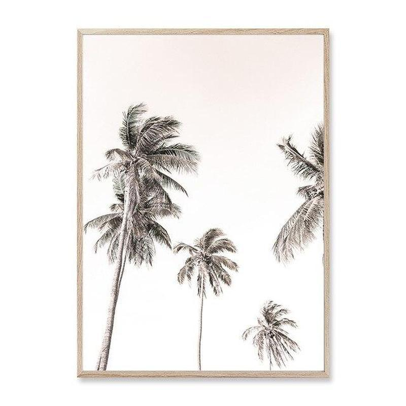 Summer Dream Canvas Prints-Heart N' Soul Home-20x25 cm no frame-Palm Trees-Heart N' Soul Home