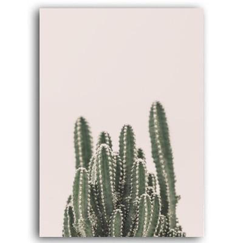 Travelers' Dream Canvas Painting Prints-Heart N' Soul Home-60x90cn no frame-Desert Cactus-Heart N' Soul Home