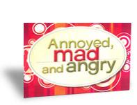 Children's Support Booklets  Annoyed, Mad and Angr