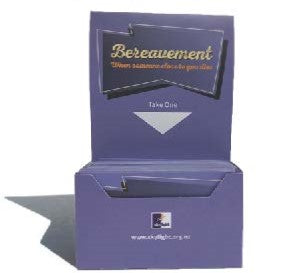 Youth Cards Bereavement  Pack of 50