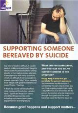 Information leaflet series for adults: Supporting Someone Bereaved By Suicide