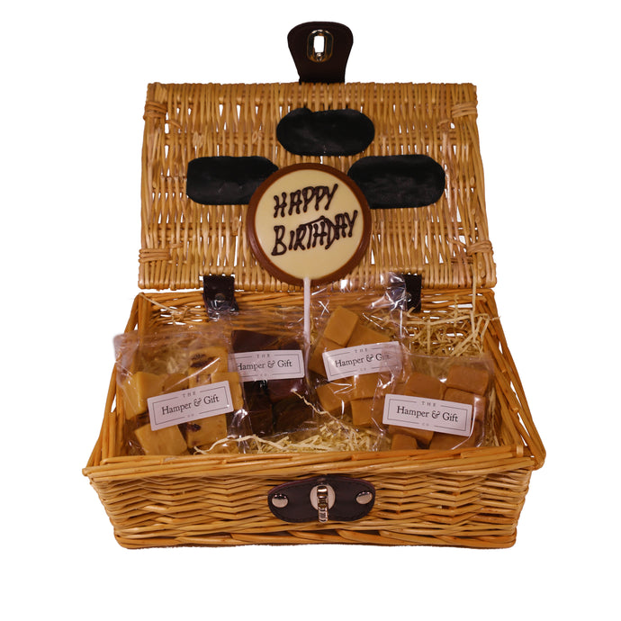 Happy Birthday Fudge Hamper