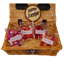 Load image into Gallery viewer, Happy Birthday Chocolate & Sweet with Love Hamper